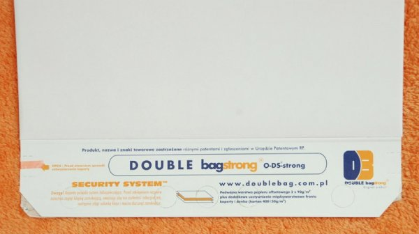 Strong double bag 380X550X40 25szt.